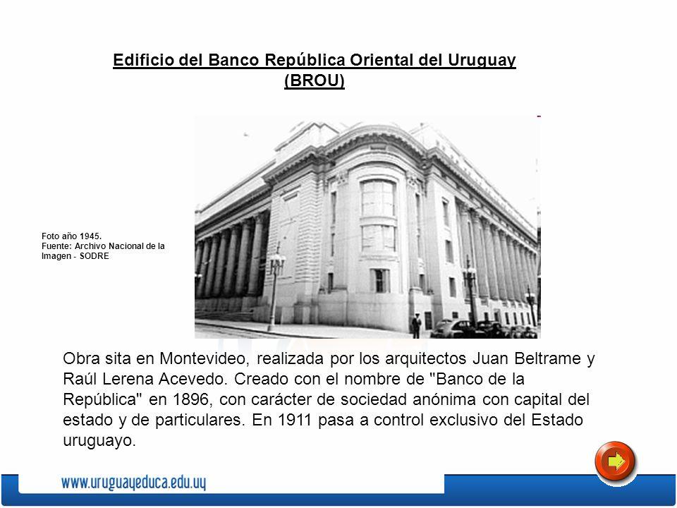 Edificio del Banco República Oriental del Uruguay