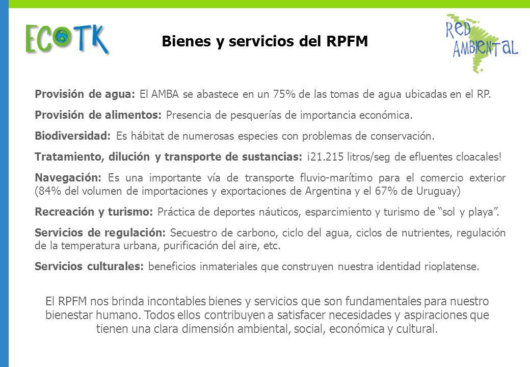 Bienes y servicios del RPFM