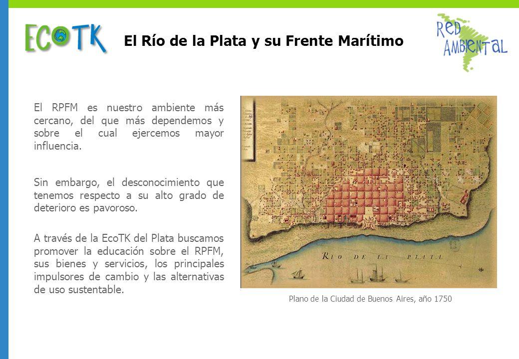 El Río de la Plata y su Frente Marítimo
