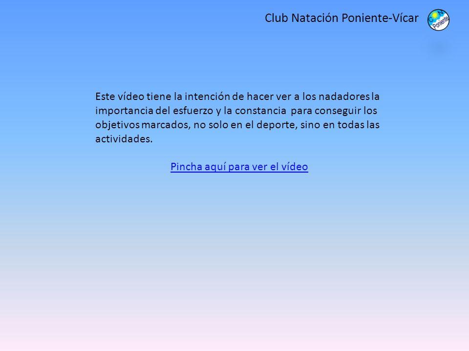 Club Natación Poniente-Vícar