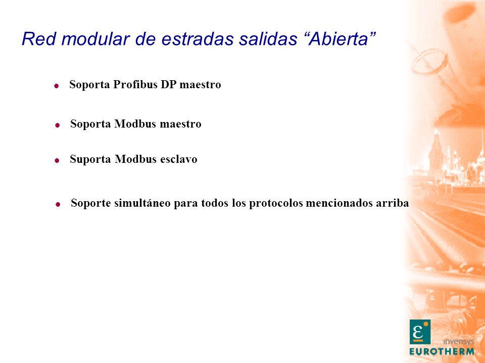Red modular de estradas salidas Abierta