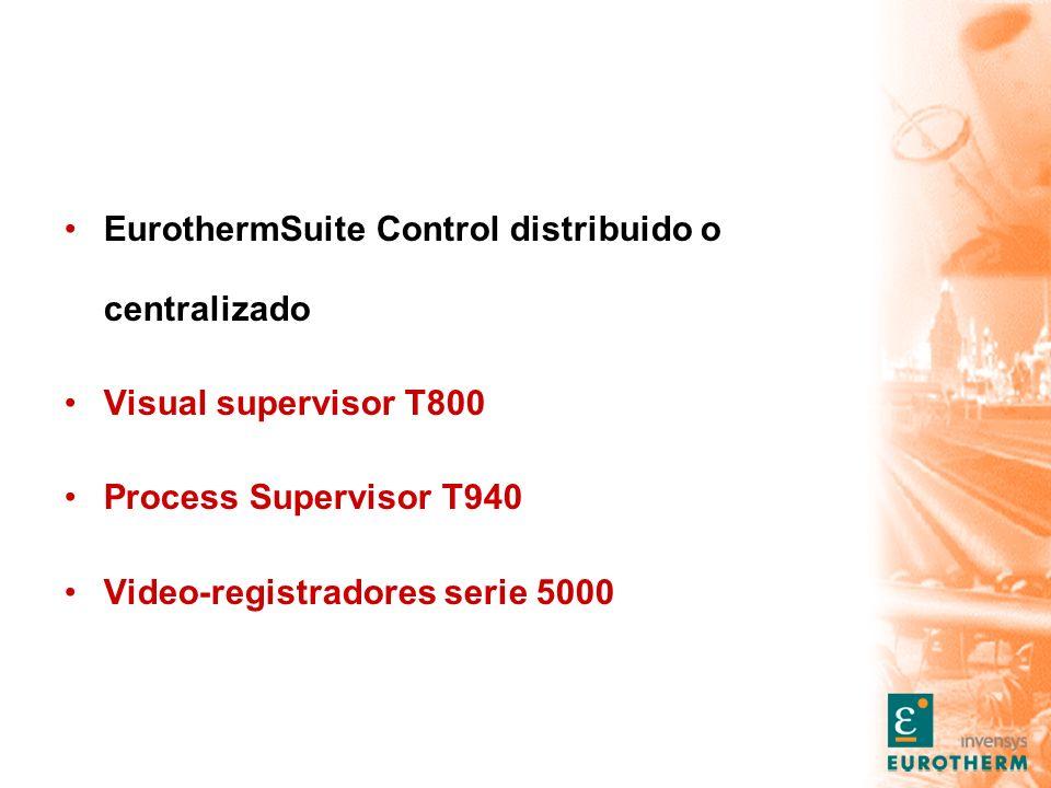 EurothermSuite Control distribuido o centralizado