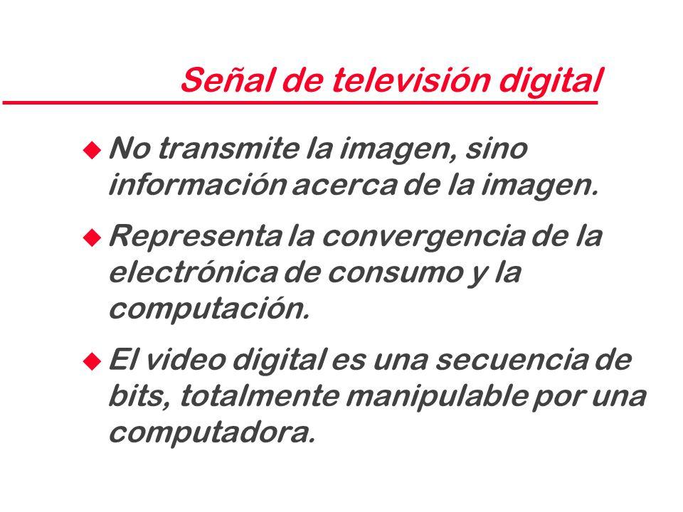 Señal de televisión digital