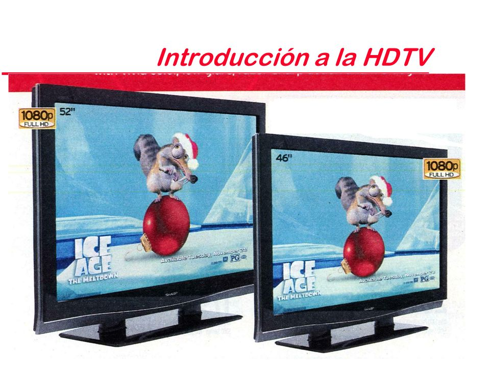 Introducción a la HDTV