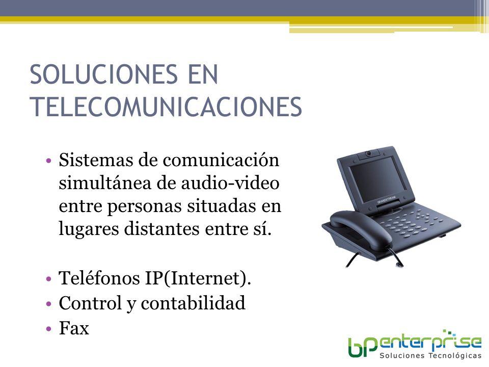 SOLUCIONES EN TELECOMUNICACIONES
