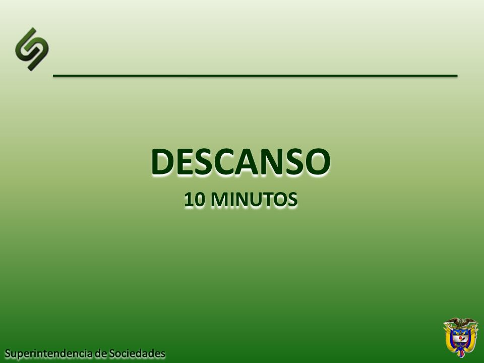 DESCANSO 10 MINUTOS