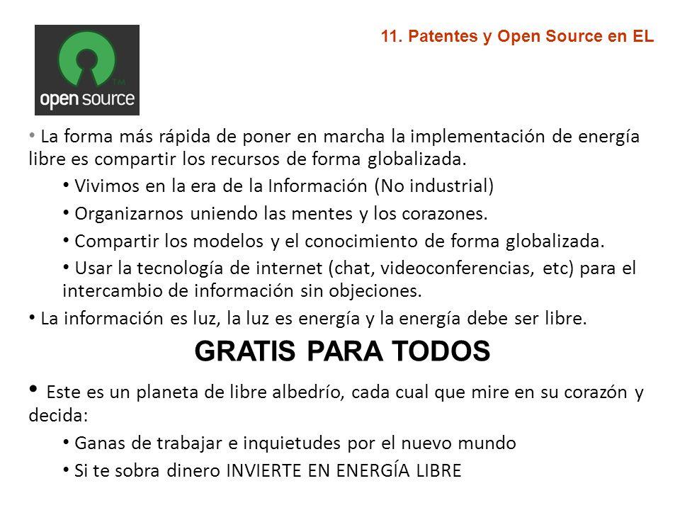 11. Patentes y Open Source en EL