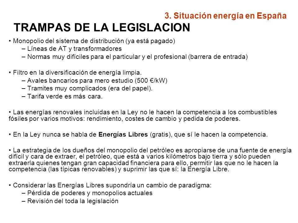 TRAMPAS DE LA LEGISLACION