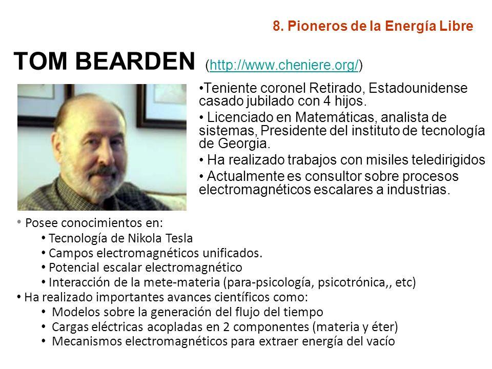 TOM BEARDEN (http://www.cheniere.org/)