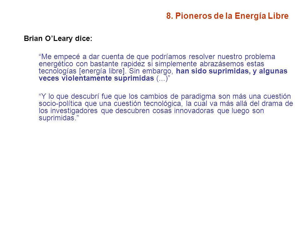 8. Pioneros de la Energía Libre