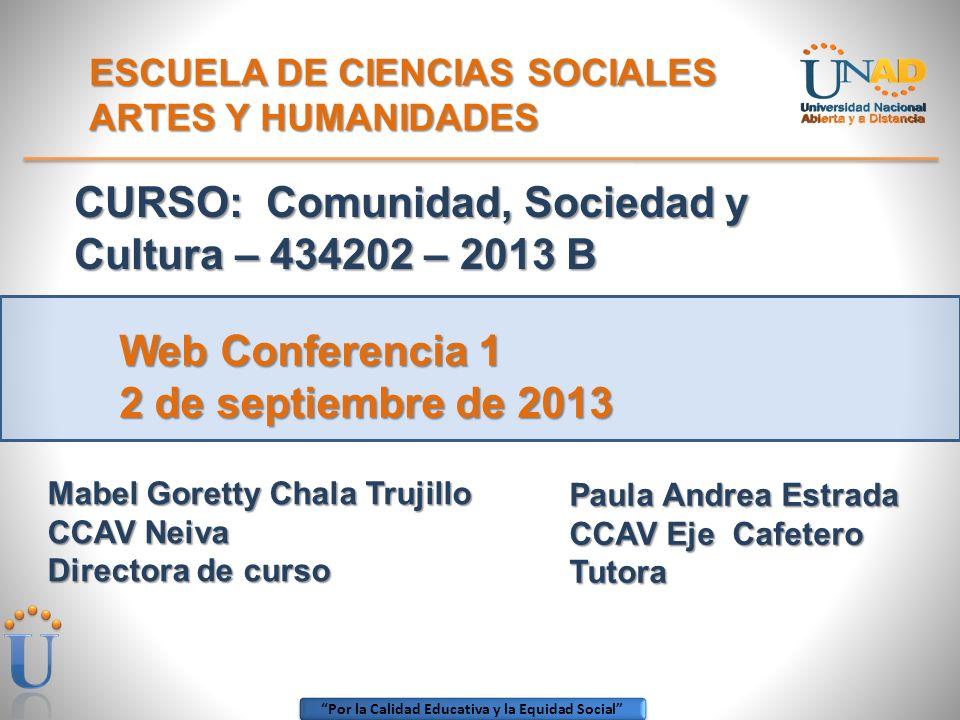 ESCUELA DE CIENCIAS SOCIALES ARTES Y HUMANIDADES
