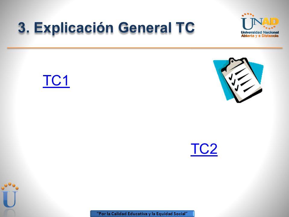 3. Explicación General TC