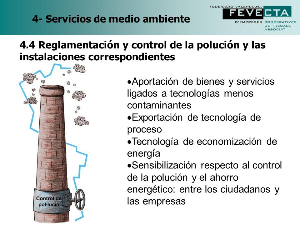 4- Servicios de medio ambiente
