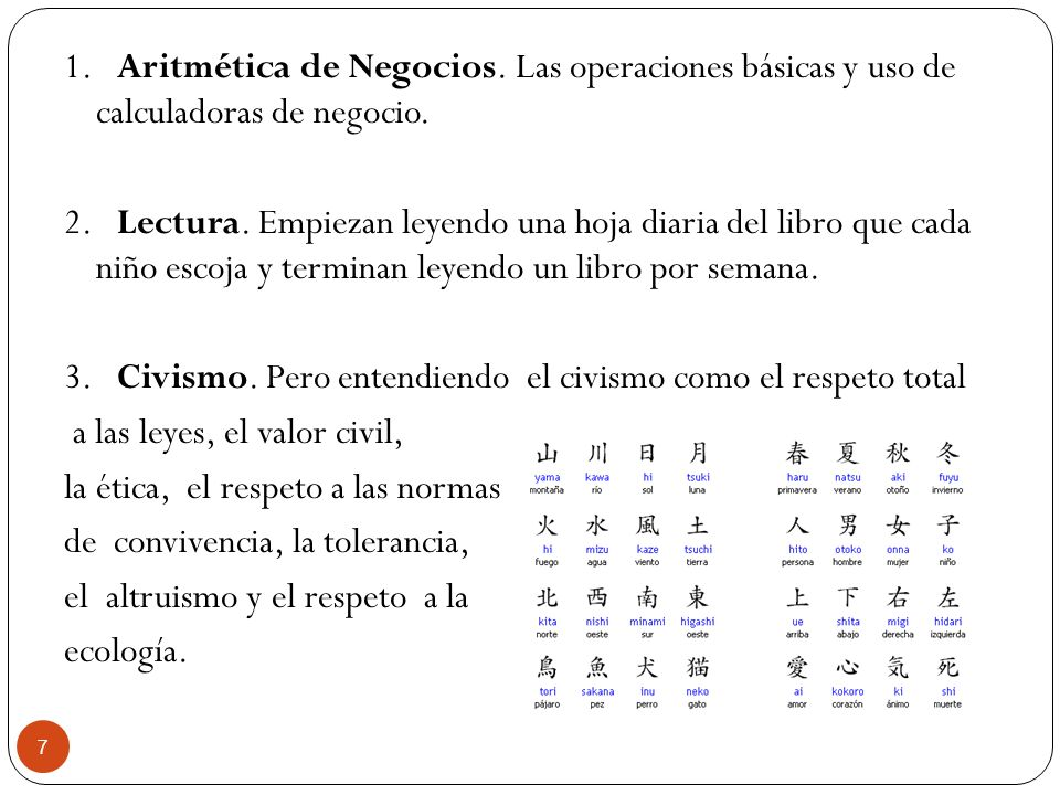 1. Aritmética de Negocios