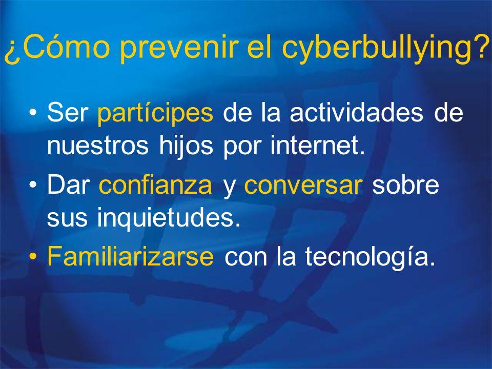 ¿Cómo prevenir el cyberbullying