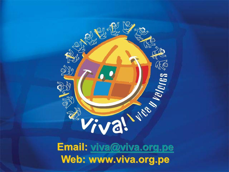 Email: viva@viva.org.pe Web: www.viva.org.pe