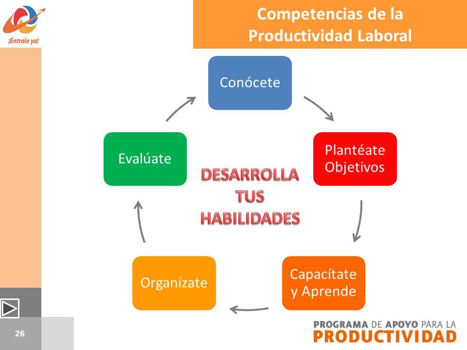 Productividad Laboral DESARROLLA TUS HABILIDADES