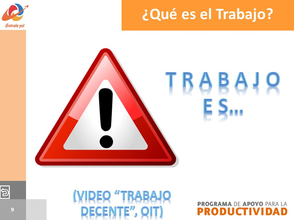 (video Trabajo Decente , OIT)