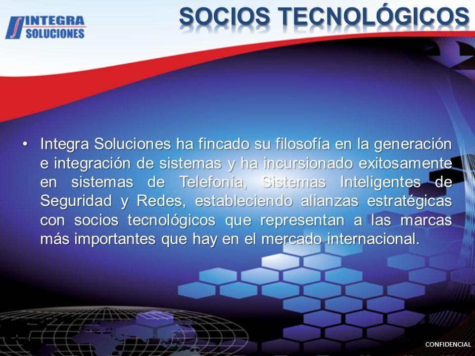 SOCIOS TECNOLÓGICOS