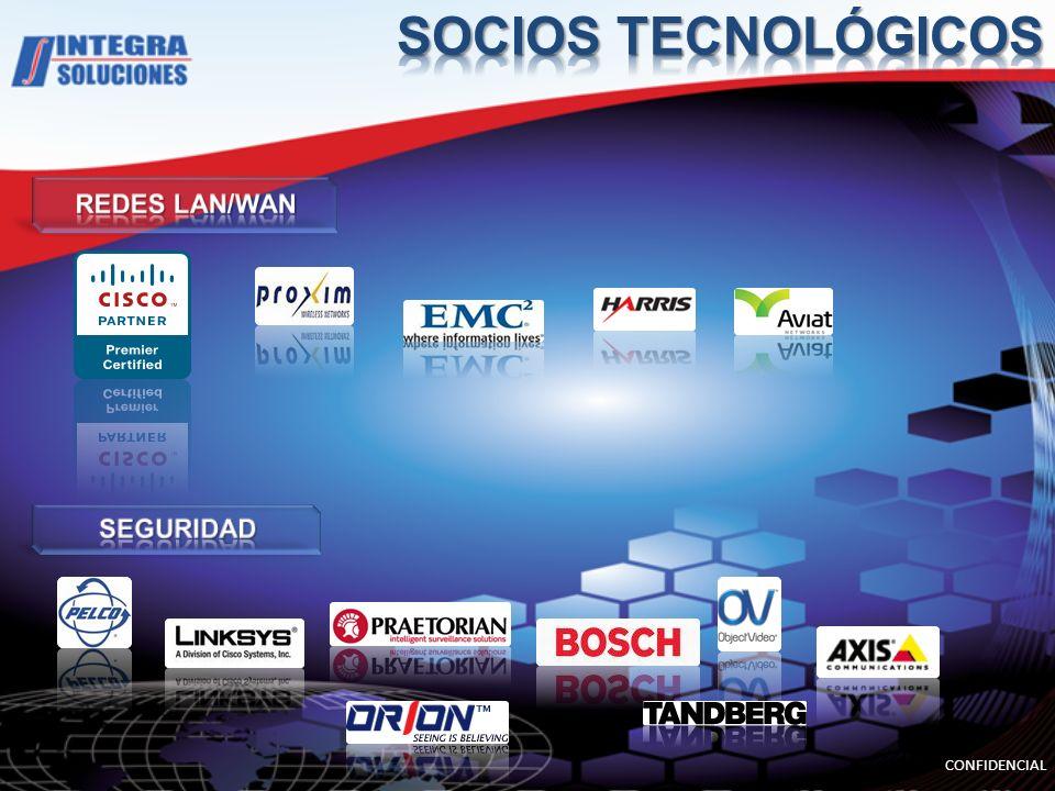SOCIOS TECNOLÓGICOS REDES LAN/WAN SEGURIDAD CONFIDENCIAL