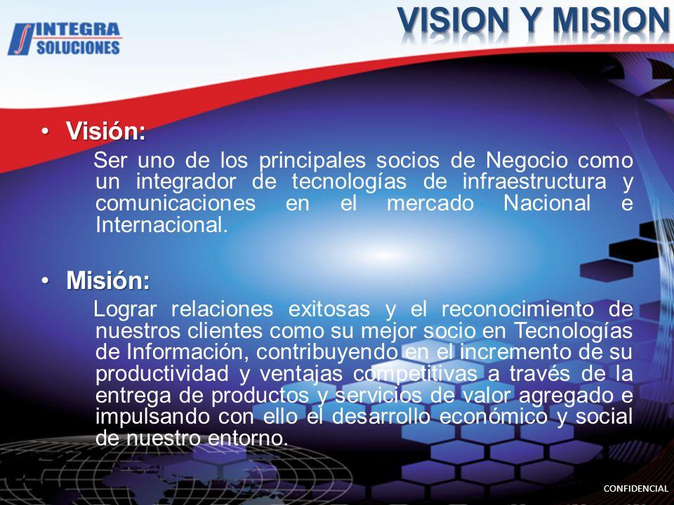 VISION Y MISION Visión: Misión: