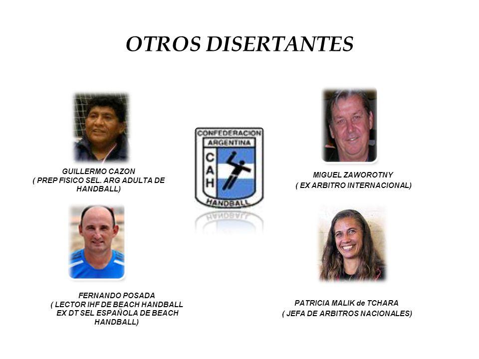 OTROS DISERTANTES GUILLERMO CAZON