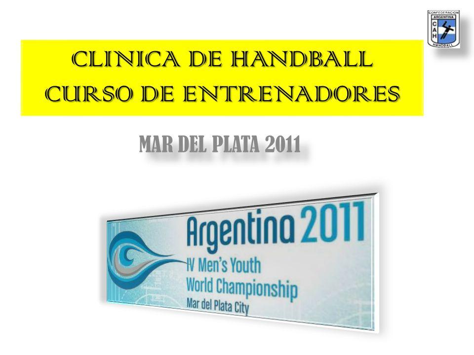 CLINICA DE HANDBALL CURSO DE ENTRENADORES