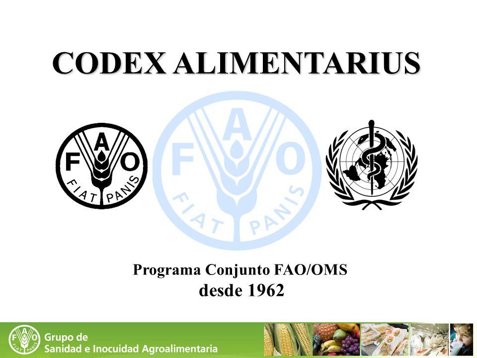 Programa Conjunto FAO/OMS