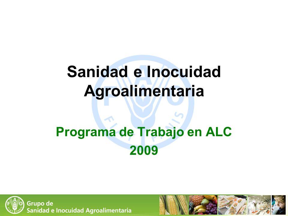 Sanidad e Inocuidad Agroalimentaria