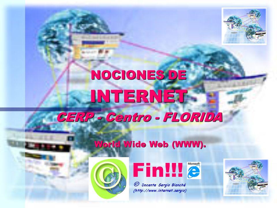 NOCIONES DE INTERNET CERP - Centro - FLORIDA