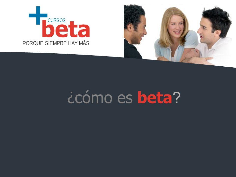 ¿cómo es beta