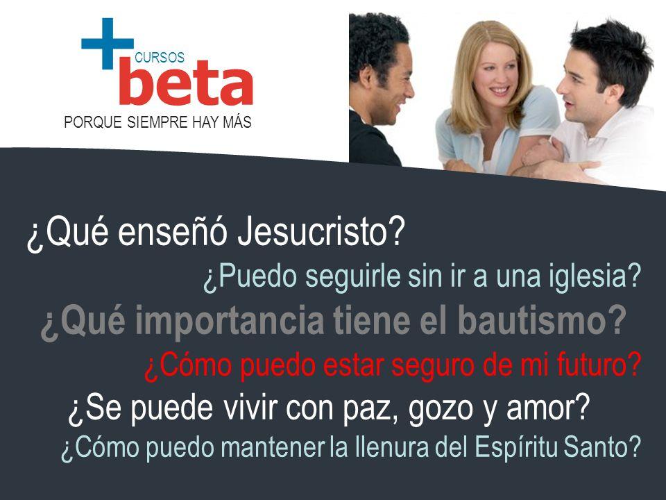 ¿Qué importancia tiene el bautismo