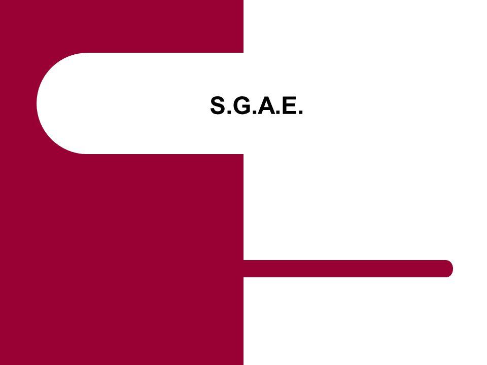 S.G.A.E.
