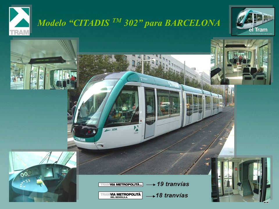 Modelo CITADIS TM 302 para BARCELONA