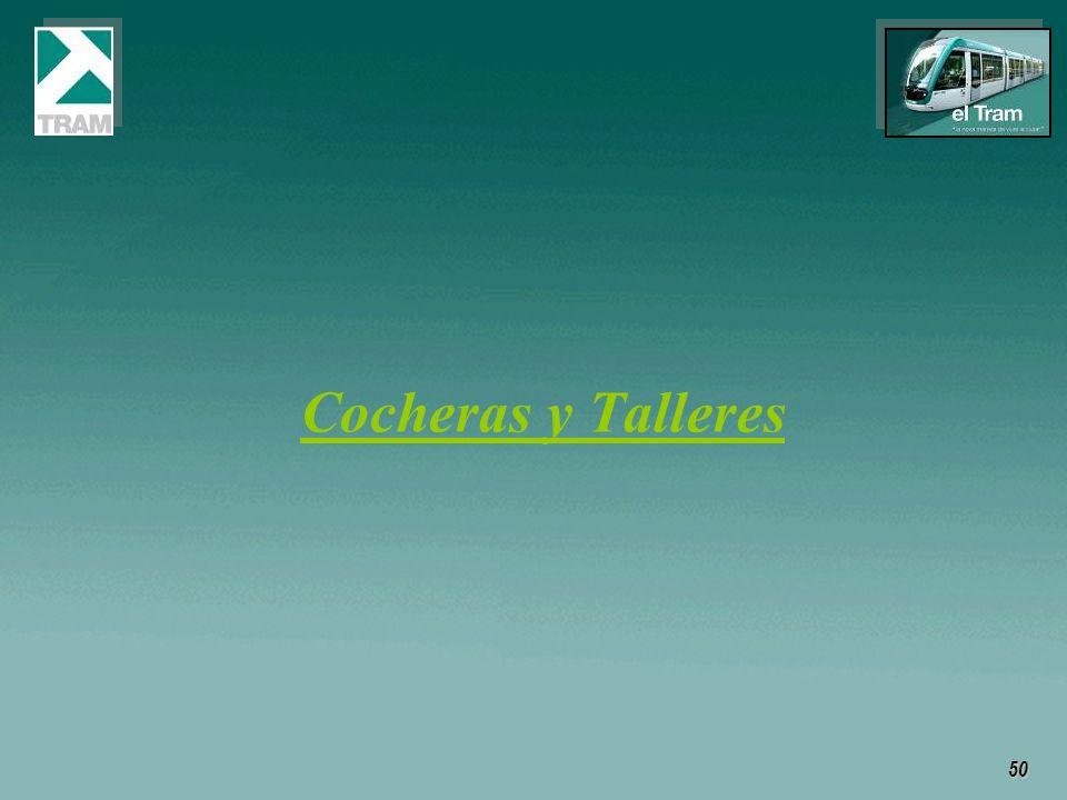 Cocheras y Talleres