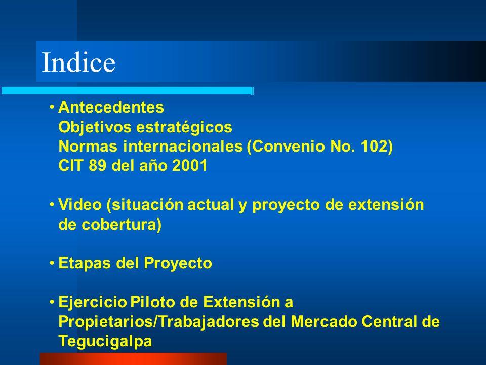 Indice Antecedentes Objetivos estratégicos