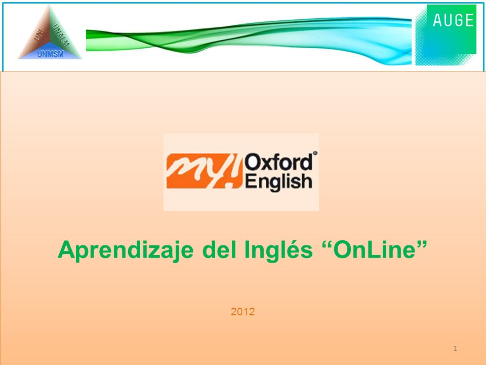 Aprendizaje del Inglés OnLine