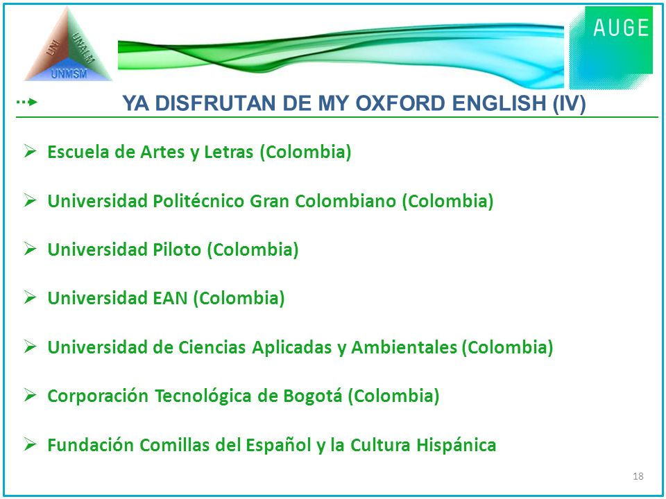 YA DISFRUTAN DE MY OXFORD ENGLISH (IV)