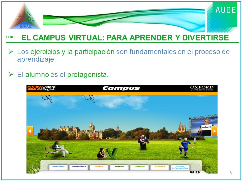 EL CAMPUS VIRTUAL: PARA APRENDER Y DIVERTIRSE