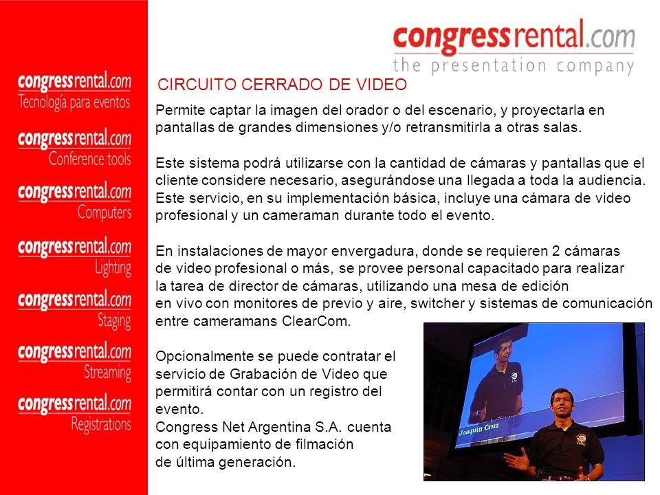 CIRCUITO CERRADO DE VIDEO