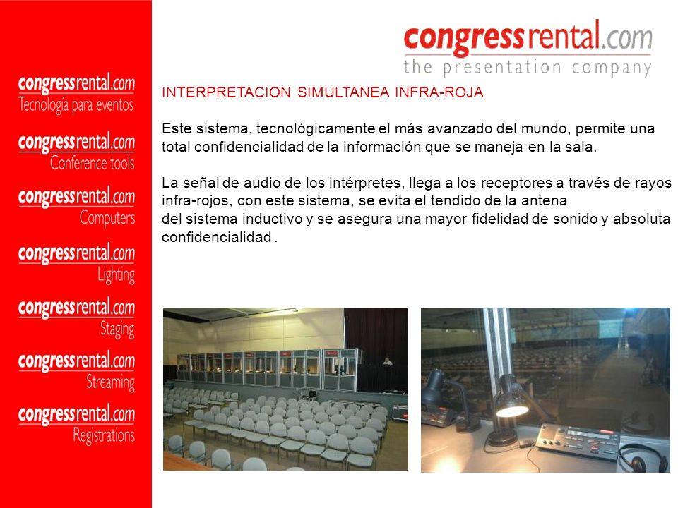 INTERPRETACION SIMULTANEA INFRA-ROJA