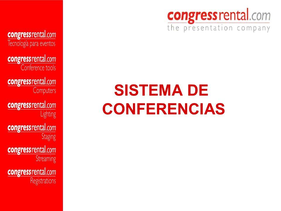 SISTEMA DE CONFERENCIAS