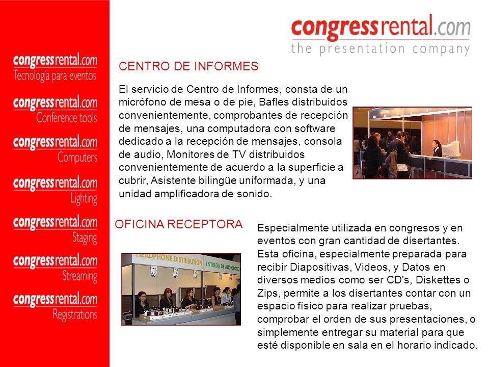 CENTRO DE INFORMES OFICINA RECEPTORA