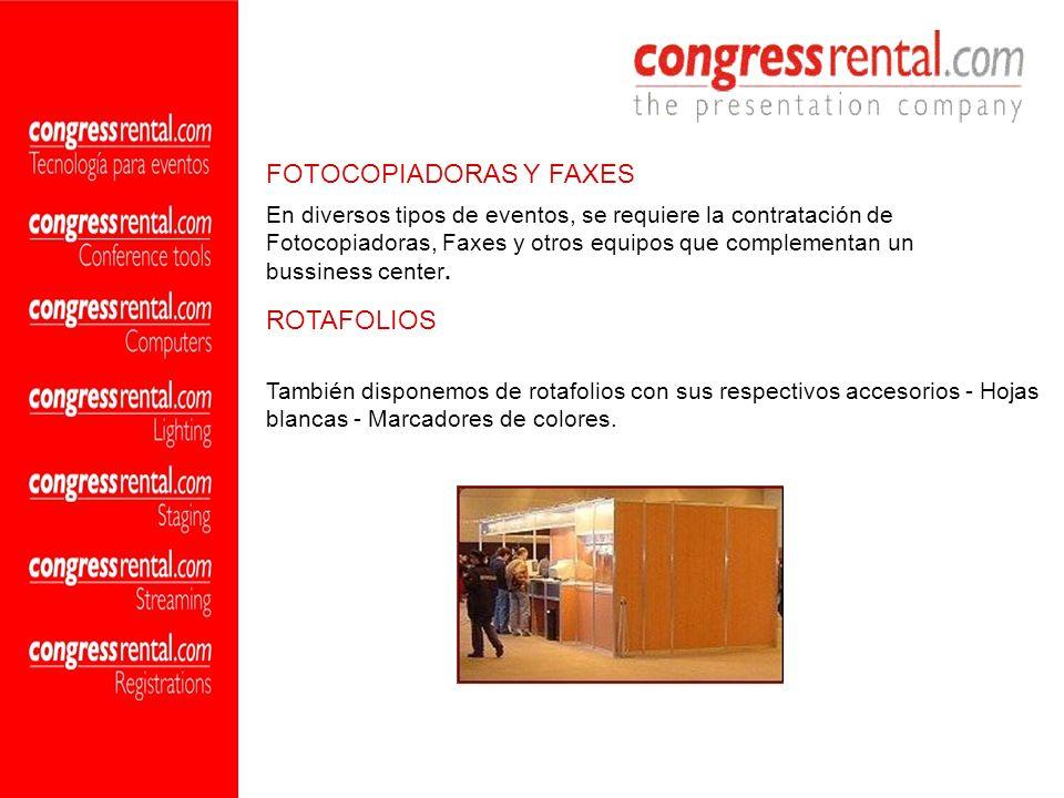 FOTOCOPIADORAS Y FAXES