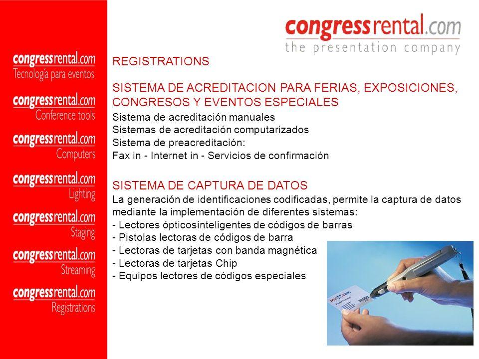 SISTEMA DE ACREDITACION PARA FERIAS, EXPOSICIONES,