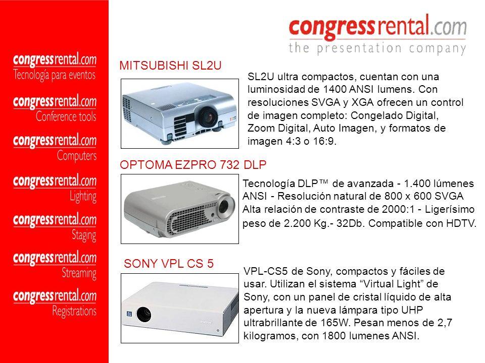 MITSUBISHI SL2U OPTOMA EZPRO 732 DLP SONY VPL CS 5