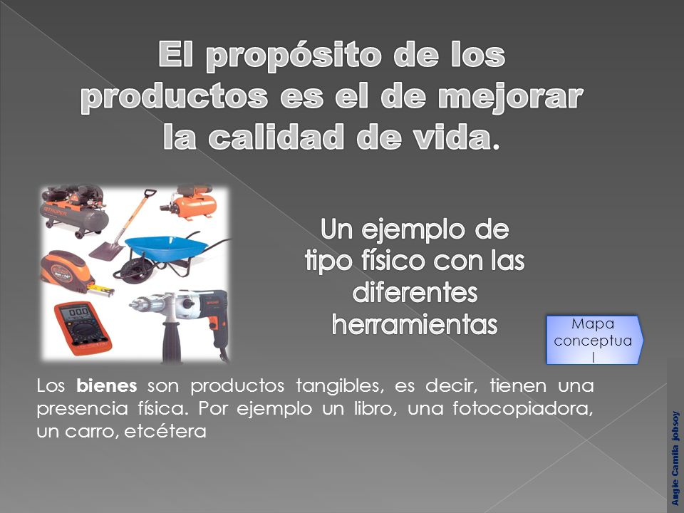 El propósito de los productos es el de mejorar la calidad de vida.