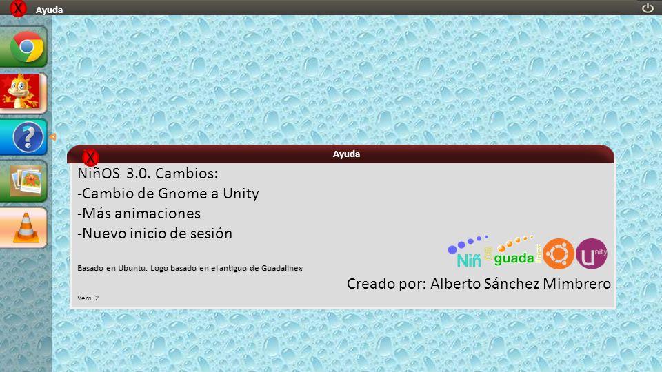 -Cambio de Gnome a Unity -Más animaciones -Nuevo inicio de sesión