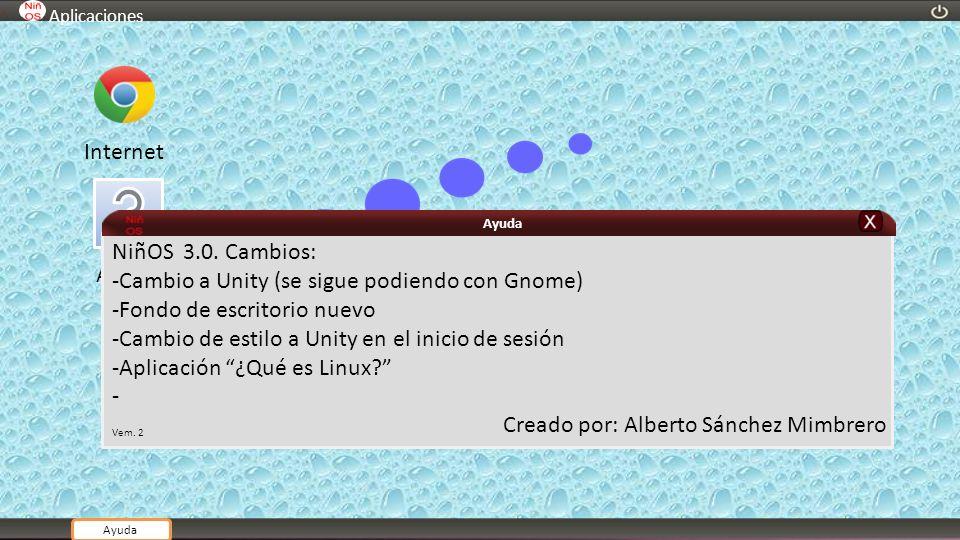 -Cambio a Unity (se sigue podiendo con Gnome)