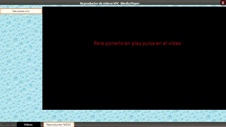 Reproductor de vídeos VPC Media Player
